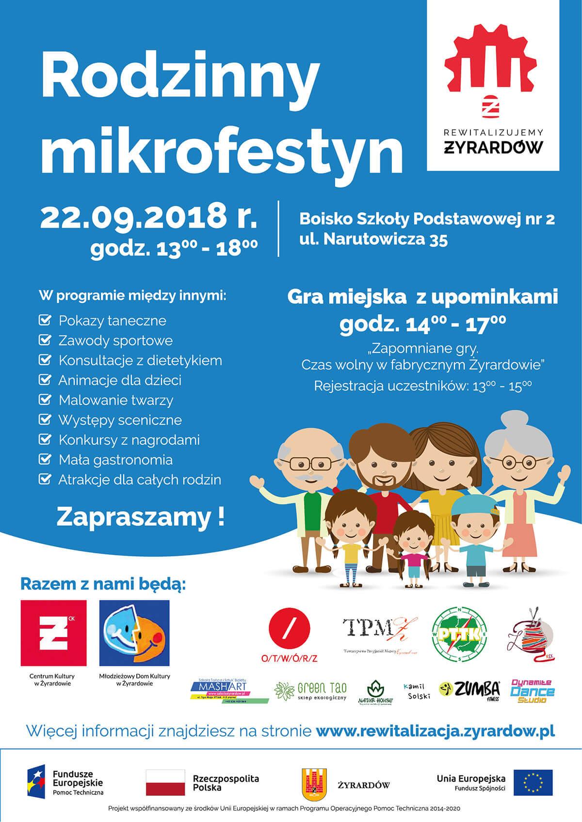 Plakat - Rodzinny mikrofestyn